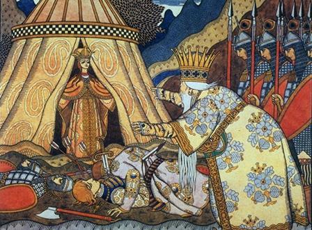 Tsar Dadon meets Shemakha