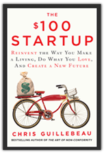Guillebeau's latest book $100 Startup